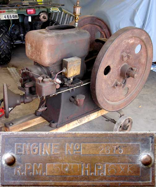 hercules hit and miss engine serial numbers